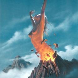Пазл онлайн: Дочь вулкана
