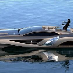 Пазл онлайн: Современная яхта