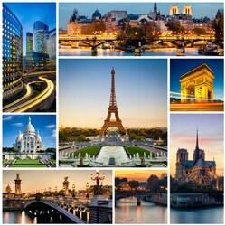 Пазл онлайн: Франция