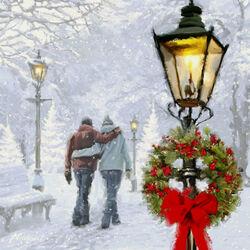 Пазл онлайн: Рождество для влюбленных