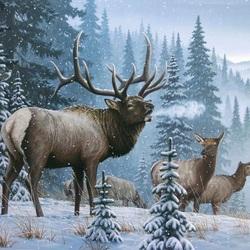 Пазл онлайн: Зимой