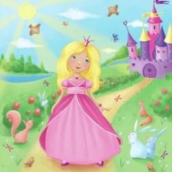 Пазл онлайн: Принцесса
