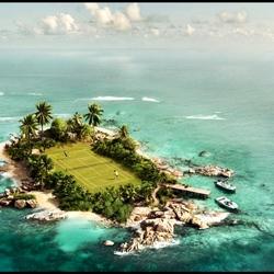 Пазл онлайн: Теннис на острове