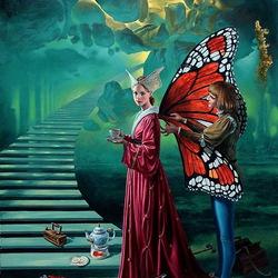 Пазл онлайн: Stairway To Heaven/Лестница в небо