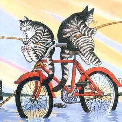 Пазл онлайн: Забавные коты