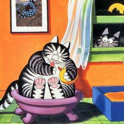 Пазл онлайн: Котик