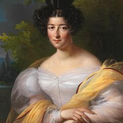 Пазл онлайн: Портрет знатной дамы