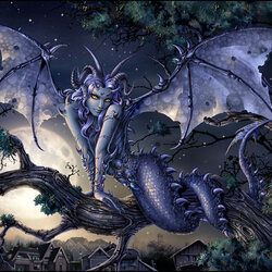 Пазл онлайн: Лунный дракон