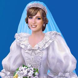 Пазл онлайн: Принцесса Диана