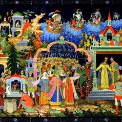 Пазл онлайн: Сказка о царе Салтане
