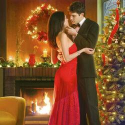 Пазл онлайн: Рожденственский романс
