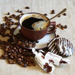 Пазл онлайн: Кофе