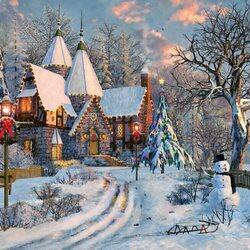 Пазл онлайн: Рождественские недели