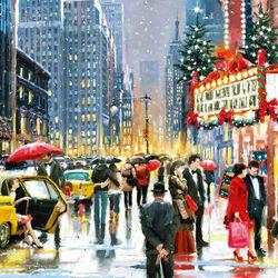 Пазл онлайн: Рождество в театре