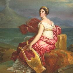 Пазл онлайн: Мадам де Сталь в образе Корины