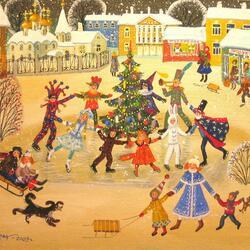Пазл онлайн: Карнавал