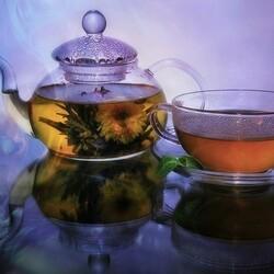 Пазл онлайн: Горячий чай