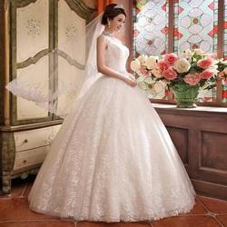 Пазл онлайн: Пышное свадебное платье