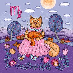 Пазл онлайн: Котики