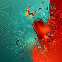 Пазл онлайн: Валентинка