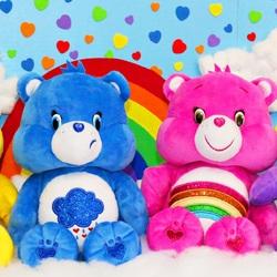 Пазл онлайн: Заботливые мишки \ Care Bears