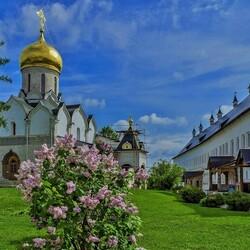 Пазл онлайн: В Саввино-Сторожевском монастыре
