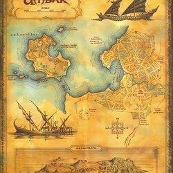 Пазл онлайн: Карта Умбара