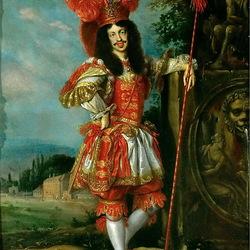 Пазл онлайн: Император Леопольд в театральном костюме