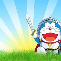 Пазл онлайн: Doraemon