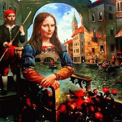 Пазл онлайн: Сны о Венеции