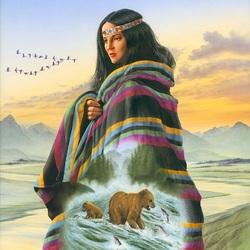Пазл онлайн: Духовная дева