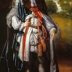 Пазл онлайн: Династия Стюартов , Карл II