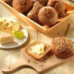 Пазл онлайн: Булочки с маслом и сыром
