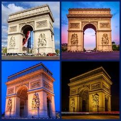 Пазл онлайн: Триумфальная арка