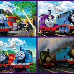 Пазл онлайн:    Томас и его друзья