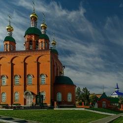Пазл онлайн: Церковь Николая Чудотворца
