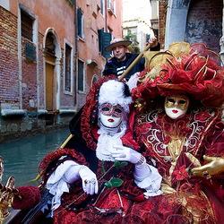 Пазл онлайн: Венецианские маски