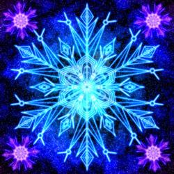 Пазл онлайн: Ледяная власть Эльзы