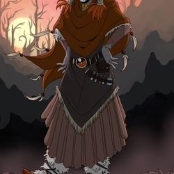 Пазл онлайн: Зайнапбану - дочь шаманки