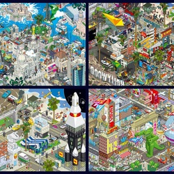 Пазл онлайн: Пиксельный арт