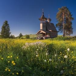 Пазл онлайн: Летом на Севере