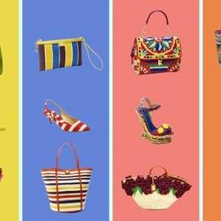Пазл онлайн: Летние аксессуары от Dolce&Gabbana