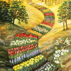Пазл онлайн: По следам весны