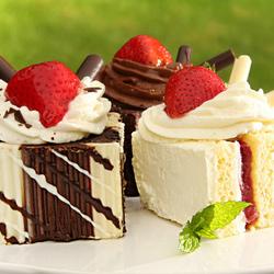 Пазл онлайн: Пироженки
