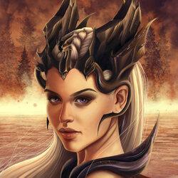 Пазл онлайн: Корона Дейнерис Бурерожденной