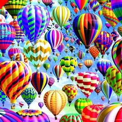 Пазл онлайн: Парад воздушных шаров