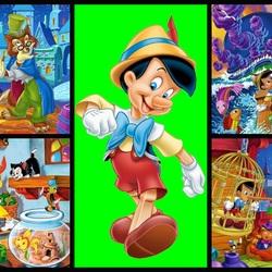 Пазл онлайн: Пиноккио