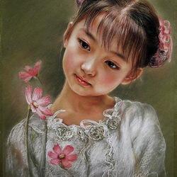 Пазл онлайн: Юная китаянка