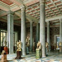 Пазл онлайн: Зал древней скульптуры