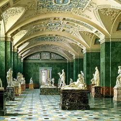 Пазл онлайн: Зал новейшей скульптуры